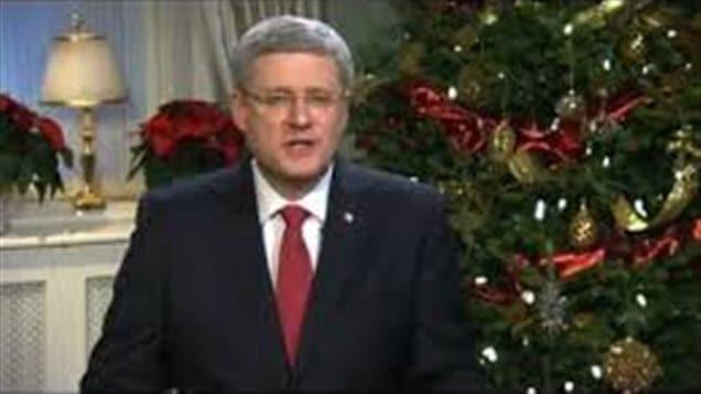 رئيس الحكومة الكنديّة ستيفن هاربر يوجّه أمنياته للكنديين بمناسبة أعياد الميلاد ورأس السنة