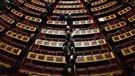 Le Parlement grec échoue à élire un président (2014-12-29)