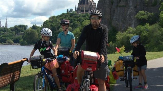 Guillaume Simard et Isabelle Bibeau lors de leur passage � Ottawa.