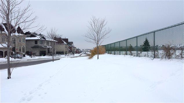 Le futur parc Raymond-Lagacée, visité par notre chroniqueur Daniel Malenfant