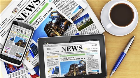 Journaux papiers et numériques