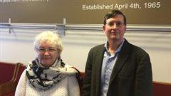 Anita Retzlaff et Patrick Preheim sont pasteurs à l'église mennonite Nutana Park, à Saskatoon, où se sont mariés les deux hommes.
