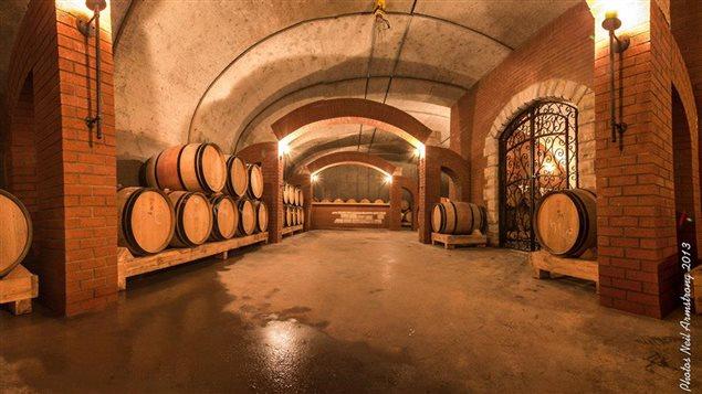 La cave du Vignoble Saint-Gabriel