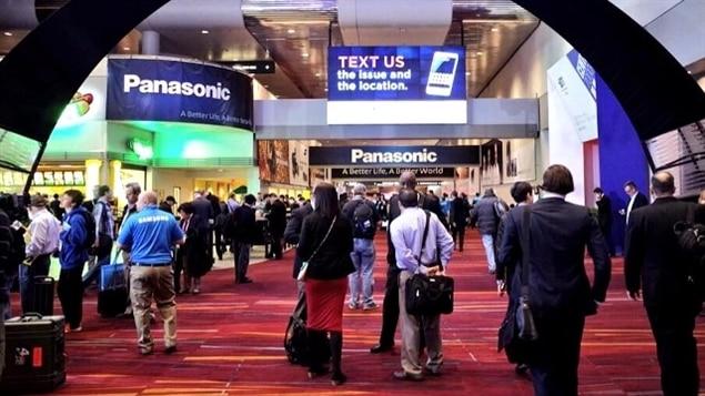 Lancement du Consumer Electronic Show à Las Vegas