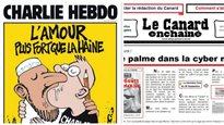 Les journaux satiriques,le «poil à gratter» de la presse française
