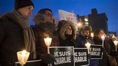 Veillée à la bougie - Charlie Hebdo