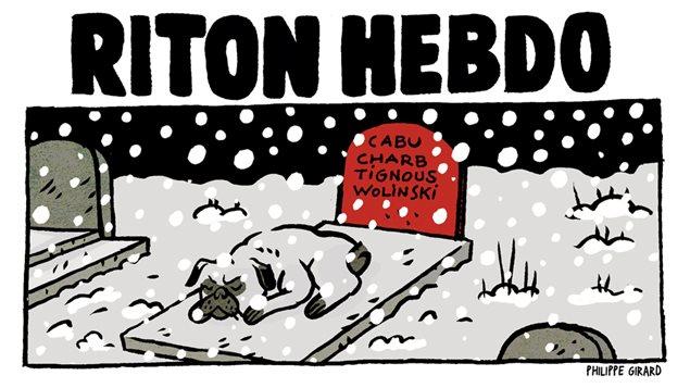 Le dessin du bédéiste Philippe Girard en réponse à l'attentat au Charlie Hebdo.