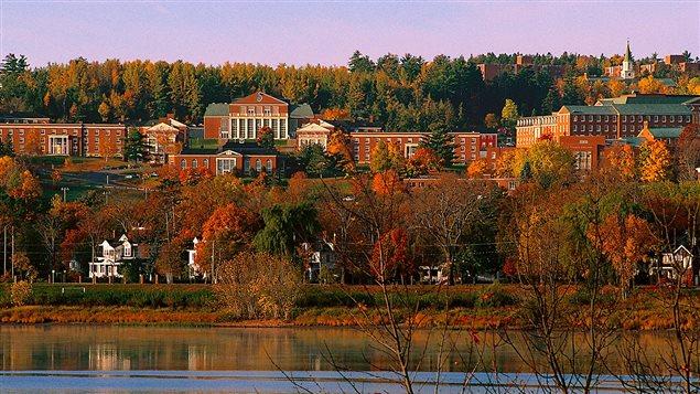 Un des campus de l'UNB