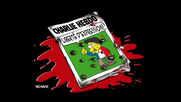 Le caricaturiste du Journal de Québec, Ygreck, a réagi à la nouvelle en dessin.