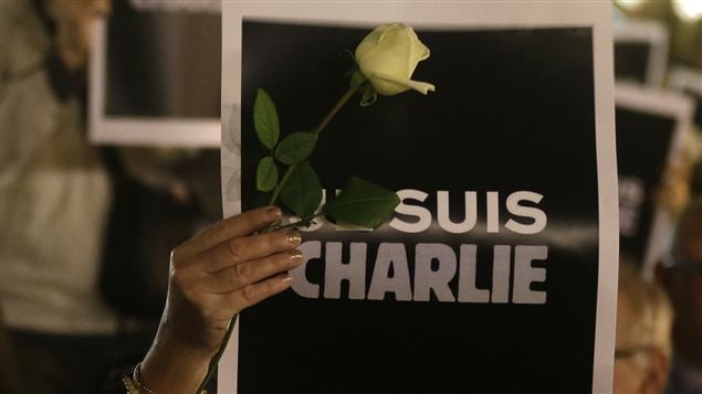 Pancarte Je suis Charlie