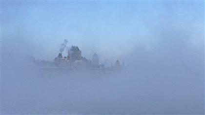 Québec sous -30 degrés Celsius - Radio-Canada