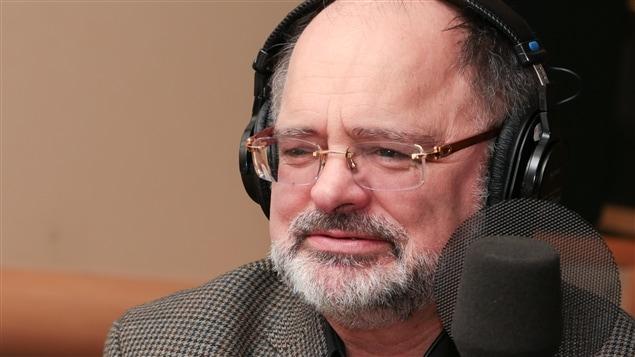 L'écrivain Jean-Jacques Pelletier
