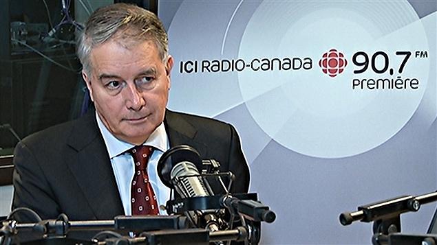 L'ambassadeur français au Canada, Philippe Zeller. (08-01-14)