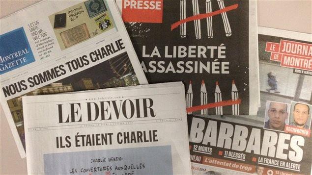 Les unes des journaux québécois de jeudi