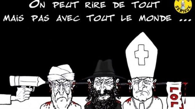 Une caricature de Charlie Hebdo