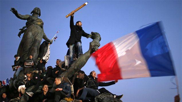 Manifestants à Paris
