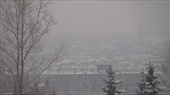 Du smog sur la ville de Québec