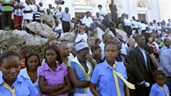 Il y a 5 ans aujourd'hui, un tremblement de terre d'une magnitude de 7 sur l'échelle de Richter frappait Haïti.