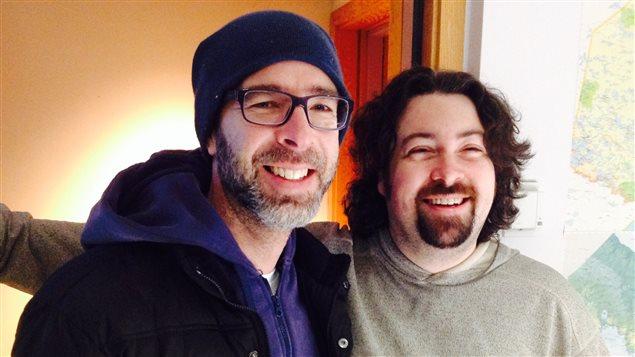 Yves Doyon du groupe En Bref et David Poulin alias Le Paysagiste seront à Contact Ontarois cette semaine.