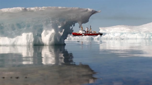 The Arctic is a region contested by Canada, Russia and the United States.