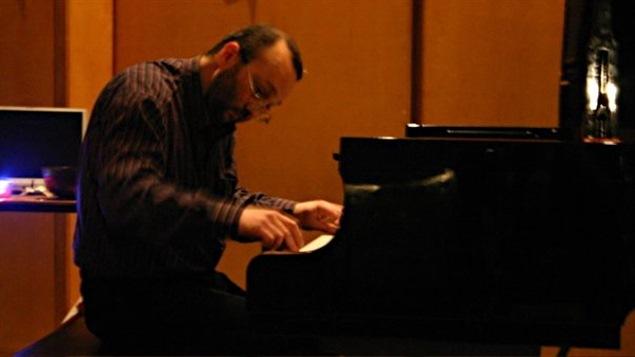 Le musicien Jérôme Blais