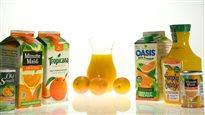 Les jus de fruits dans la mire de Santé Canada