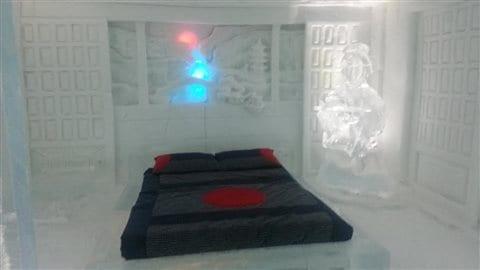 Une chambre à l'Hôtel de glace
