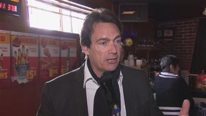 Pierre Karl Péladeau en tournée dans Chaudière-Appalaches - Radio-Canada