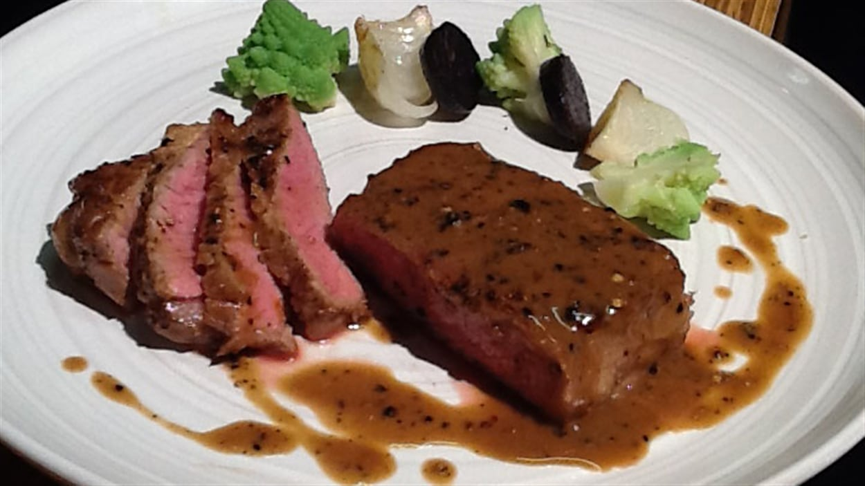 steak steak diane steak salad balsamic steak au poivre superfast beef ...