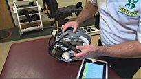 Une technologie pour prévenir les commotions cérébrales