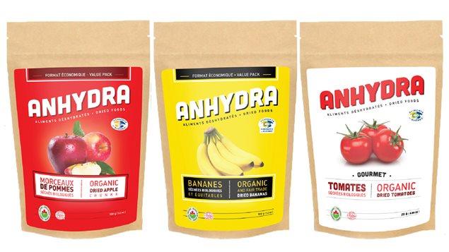 Les produits d'Anhydra