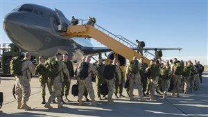 Les soldats canadiens au combat ou pas?