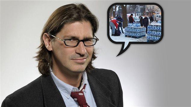 Jean-René Dufort parle du peu de préparation des Québécois en cas de catastrophe.
