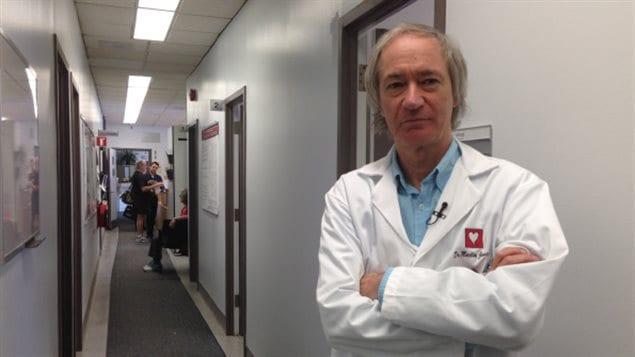 Martin Juneau, cardiologue et directeur de laprévention à l'Institut de cardiologie de Montréal
