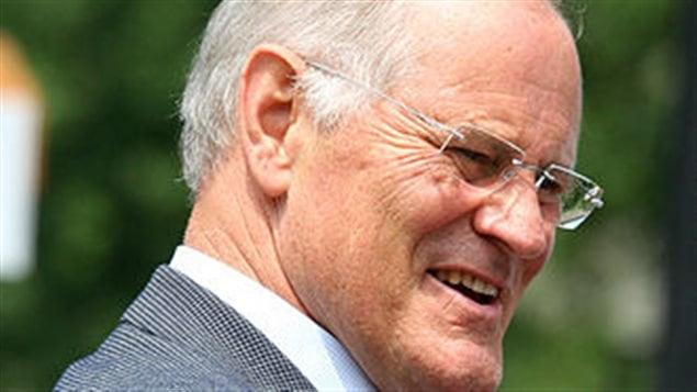 L'ancien ministre des Affaires étrangères, Bill Graham