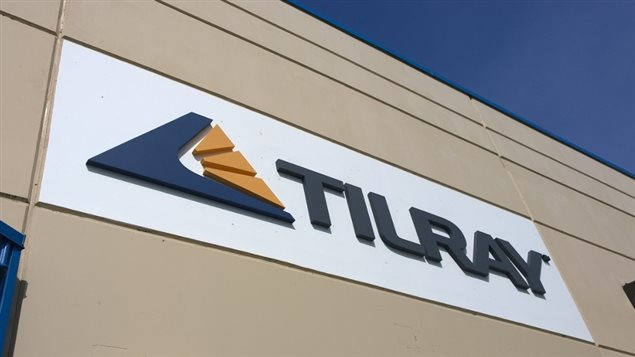 Le siège social de l'entreprise Tilray, à Nanaimo en Colombie-Britannique.