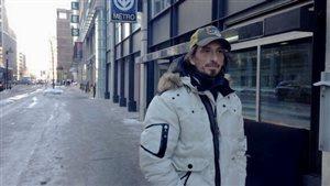 Stephan a vécu pendant presque six ans dans les rues de Montréal.