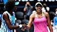 Keys élimine Venus, Serena avance en demi-finales