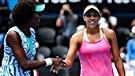 Madison Keys élimine Venus Williams en quart de finale des Internationaux d'Australie