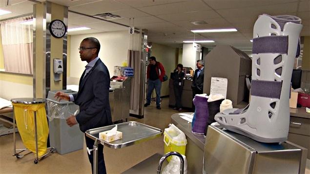 La nouvelle clinique d'orthopédie à l'Hôpital de Hull. (27-01-15)