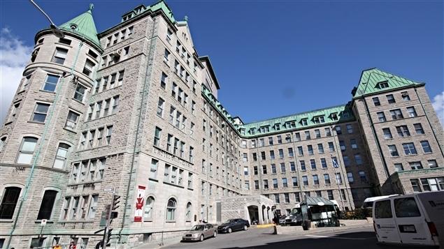 L'Hôpital Hôtel-Dieu de Québec