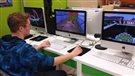 Une école de Clair reproduite dans le jeu Minecraft