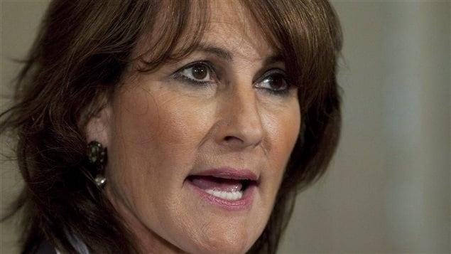 La ministre québécoise de l'Immigration, Kathleen Weil