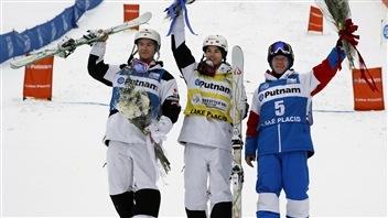 Kingsbury, Gagnon, Dufour-Lapointe et Naude sur le podium