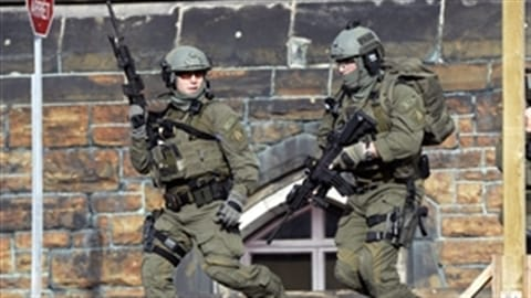 Un groupe tactique de la Gendarmerie