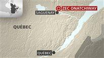 Des raquetteurs surpris par une avalanche au nord de Saguenay