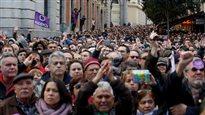 100 000 Espagnols manifestent contre l'austérité