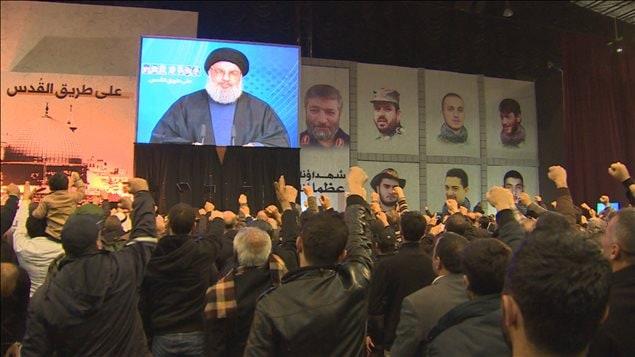 Rassemblement du Hezbollah.