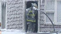 Incendie : 300 personnes évacuées à Saint-Jean, auN.-B.