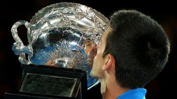 Novak Djokovic roi et maître en Australie